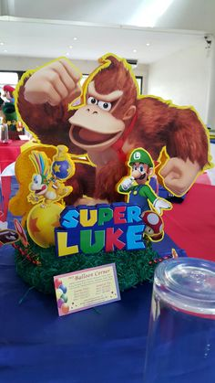 Donkey Kong Table Centerpiece