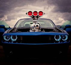 Awesome pic of a muscle car