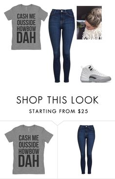 """Cash Me Outside"" by princessbrimarie ❤ liked on Polyvore featuring Topshop"