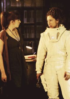 Donna Noble and River Song - mah 2 favorite DW ladies in one pic woot woot!