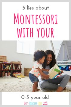 BUT there are a few lies you are being told about Montessori and I'm here to tell you the truth about them all! #montessori #montessoritoddler #toddlermontessori Montessori Education, Montessori Classroom, Montessori Toddler, Montessori Activities, Infant Activities, Toddler Preschool, Parenting Toddlers, Parenting Styles, Parenting Ideas