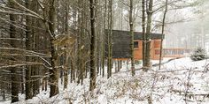Cabañas campistas del parque regional Whitetail Woods / HGA Architects and Engineers