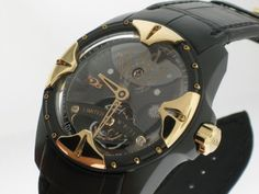 HD3: Capture Tourbillon Limited Edition Men's Watch ( Black PVD & Rose Gold Case / Black Skeleton Dial / Black Leather Strap), http://www.amazon.com/dp/B00698T0FI/ref=cm_sw_r_pi_awdm_Qblxub16SW4HA $83,000