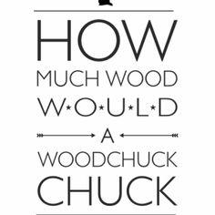 Plakat Chuck Chuck - NUNU BABA