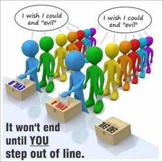 False Left Right Paradigm