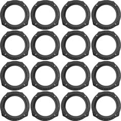 Speaker Adapter Spacer Rings - Exact Fit For Select Honda & Acura Vehicles - SAK033_55 - 8 Pair -- Awesome products selected by Anna Churchill