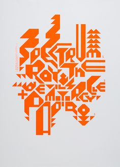 Spectrum / Roy & the Devil's Motorcycle / Papiro (Tourposter)Design: Marco PapiroScreen print, 500 × 700mm