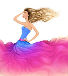 How to Create a Colorful Fashion Illustration in Adobe Illustrator – Part 1 | Vectortuts+