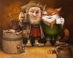 Сказочные котики Александра Маскаева | В мире интересного
