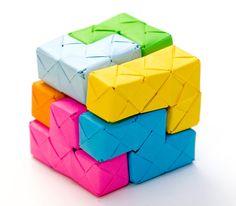 Tetris origami