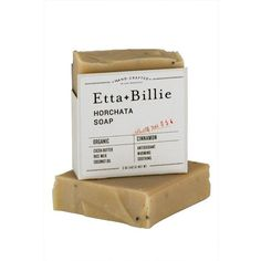 Etta + Billie Horchata Soap