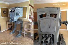 AT-ST cat playhouse