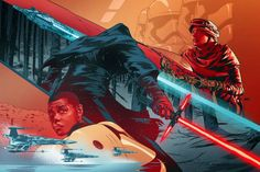episode 7 the force awakens fan poster - Google Search