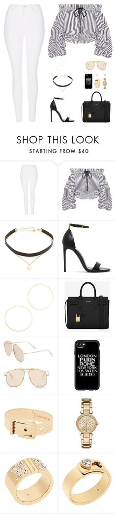 Sin título #4974 by mdmsb ❤ liked on Polyvore featuring Topshop, Caroline Constas, Jennifer Zeuner, Tom Ford, Yves Saint Laurent, Casetify and Michael Kors