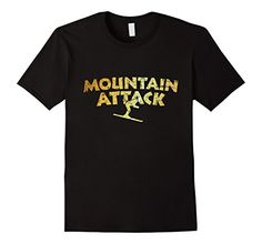 Skiing t-shirts for skiers and winter sports who rock the mountains. If you are interested in winter sports, apres ski, snow skiing, downhill skiing, skiers, ski resorts, skiing areas or rocking the mountains, you might like this shirt.