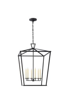 Darlana Extra Large Lantern in Aged Iron Entry Chandelier, Foyer Lighting, Circa Lighting, Lighting Design, Old Fashioned Christmas Decorations, Lantern Designs, Cotton House, Large Lanterns, Foyer Decorating