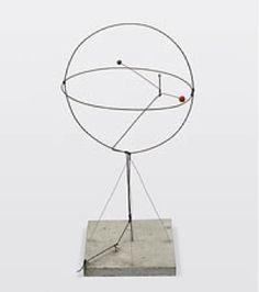 Calder, deux sphères dans une sphère, 1931
