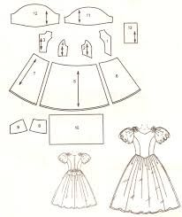 Modelo e molde de vestidinho infantil  Princesa