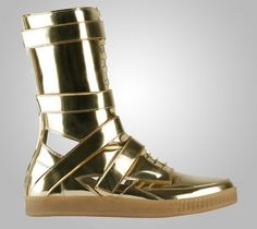 Givenchy. Reminds me of what the Tinman would wear if he were real and around today. #fashion #shoes #sneakers