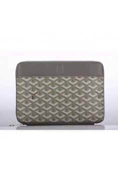Goyard Mini IPad Case Gray