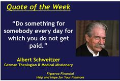 Quote of the Week (Feb-2-2014):