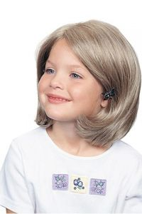 Ultra Petite Bob Girl's Full Lace Synthetic Wig UK