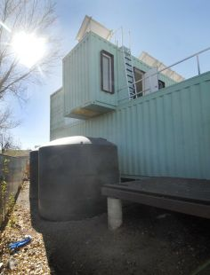 how to make a shipping container saloon