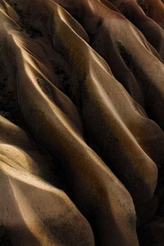 From Shadow to Light II - Abstract rockshapes in a canyon in Capadocia, Turkey.