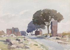 Edward Seago, On the Appian Way