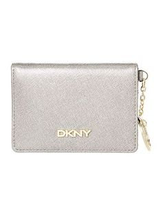 DKNY Silver Card Holder With Key Ring #shoppingpicks