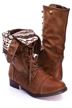 Faux Leather - Lace Up Combat Boots Repin & Follow my pins for a FOLLOWBACK!