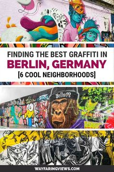 Find the best graffiti in Berlin, Germany. Spotting murals is one of the best things to do in Berlin and you can find them in neighborhoods like Kreuzberg, Shöenberg, Friedrichshain and Prenzlauer Berg. This self-guided walking tour shows you how and where to find the street art.
