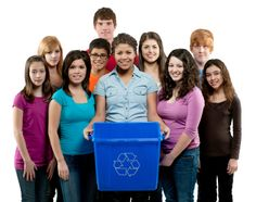 Get your neighbors to help with recycling - it will save you time and energy while still saving the environment! Go Green: Start Your Own Home Recycling Center! Green Apartment, Apartment Living, Recycling Center, Your Neighbors, Go Green, Own Home, Storage Chest, Environment, Blog