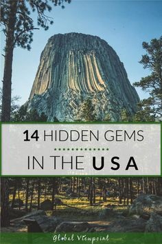 Best Hidden Vacation Spots in the US - Don't get me wrong, I love visiting popular vacation spots like Yellowstone and LA, but I feel mo - Us Travel Destinations, Places To Travel, Wedding Destination, Destination Voyage, State Parks, Cool Places To Visit, Places To Go, Wyoming, Best Vacations