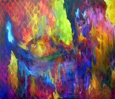 """LANDMARK"", 160 x 145, Acrylic"