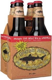 Dogfish Head 90 Minute IPA.  One of the best!