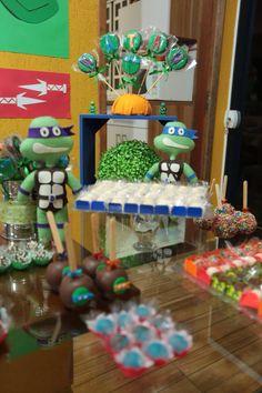 Festa tartarugas Ninjas