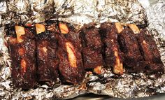 Dry Rubbed Fall-Off-The-Bone Beef Ribs in the Oven