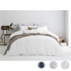 Brisa Linen Pair of Pillowcases, Slate UK King Bedding Sets, Bed Linen Sets, Home Comforts, King Beds, Furniture Collection, Linen Bedding, Home And Living, Pillow Cases, Furniture Design