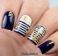 The Most Trendy & Creative Nails Art You've Ever Seen 2016 75 pic