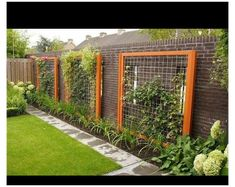 Pergola Garden, Garden Beds, Backyard Landscaping, Landscaping Ideas, Garden Fences, Garden Privacy, Pergola Kits, Diy Garden, Backyard Ideas