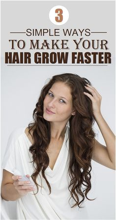 3 simple ways to make your hair grow faster hair tips, hair growth tips, . How To Grow Your Hair Faster, Make Hair Grow, Healthy Hair Tips, Natural Hair Styles, Long Hair Styles, Hair Growth Tips, Tips Belleza, Cool Hairstyles, Hairdos