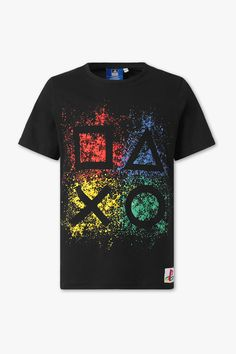 PlayStation short sleeve T-shirt - Cool Shirts - Ideas of Cool Shirts - PlayStation short sleeve T-shirt comfy fashion great prices Create T Shirt Design, Shirt Print Design, Tee Design, Cool Shirt Designs, Game Day Shirts, Personalized T Shirts, Cool T Shirts, Printed Shirts, Shirt Style