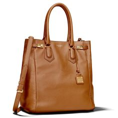 The Carlyle Tote Brown by Henri Bendel