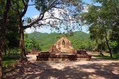 My Son, Site archéologique près de Hoi An, Vietnam                              …