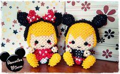 Mickey and minnie beads