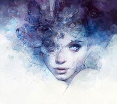 Illustrazioni digitali fantasy della digital artist Anna Dittmann