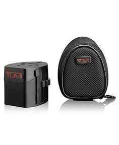 Tumi Travel Adaptor with Ballistic Case - Travel Accessories - luggage - Macy's Bridal and Wedding Registry