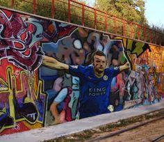 Vardy street art