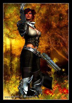 Guild Wars - Engineer by Aphrodite-NS.deviantart.com on @deviantART